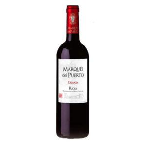 BOTELLA MARQUÉS DEL PUERTO ''CRIANZA'' (Rioja)