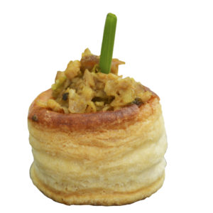VOL AU VENT DE SOLOMILLO IBÉRICO AL CURRY