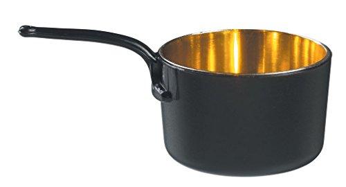 Mini Cazo Negro-Oro