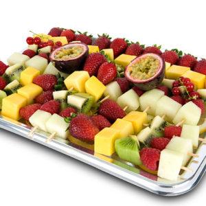 Bandeja de Brochetas de Fruta de temporada (20 unidades)